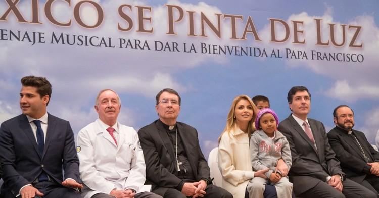 """Presentación del disco """"México se Pinta de Luz""""."""