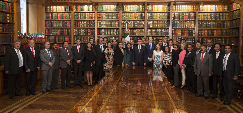 El Secretario de Gobernación reunido con los implementadores del Nuevo Sistema de Justicia Penal