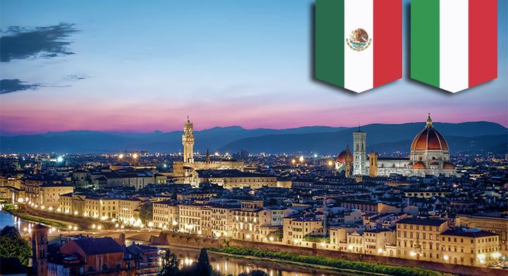 Vista de la ciudad de Florencia.