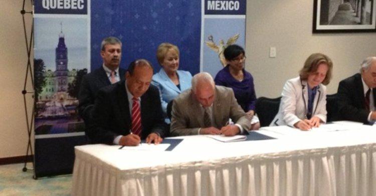 El IMTA y el Centro de investigaciones industriales de Quebec firman acuerdo de cooperación