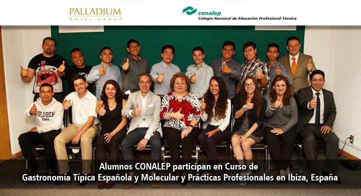 Alumnos conalep participan en curso de gastronom a t pica - Curso de cocina profesional ...