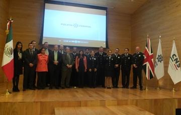 Policía Federal fortalece vínculo de colaboración con Gran Bretaña en el combate al Cibercrimen