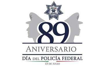 Conmemoración del 89 Aniversario de la Policía Federal