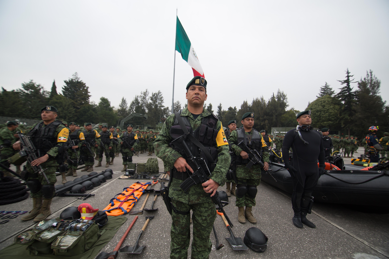 el compromiso y los valores de los integrantes del Ejército y Fuerza Aérea Mexicanos