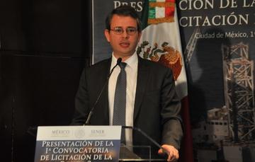 El Subsecretario de Ingresos, Miguel Messmacher, en la presentación de la  Primera Convocatoria de la Ronda 2