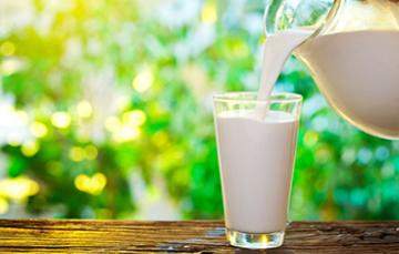 Un mexicano consume en promedio 99 litros de leche al año.