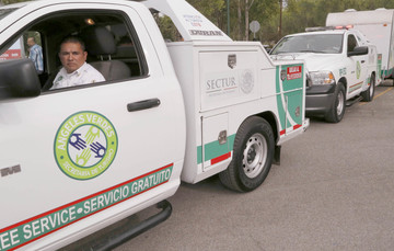 Ángeles Verdes: atención al turista en México