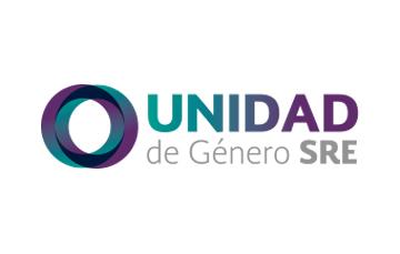 Logotipo de la Unidad de Género de la SRE