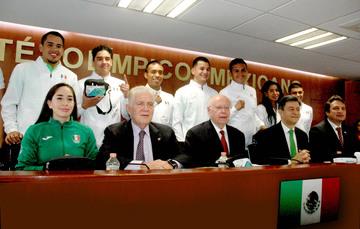 Refuerzan acciones preventivas en delegación mexicana que acude a Juegos Olímpicos de Río 2016