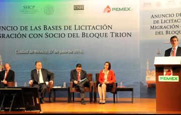Bases licitación de la migración con socio del Bloque Trion