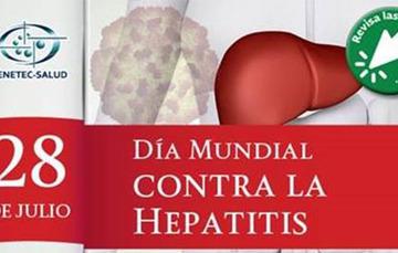 Día Mundial contra la hepatitis.