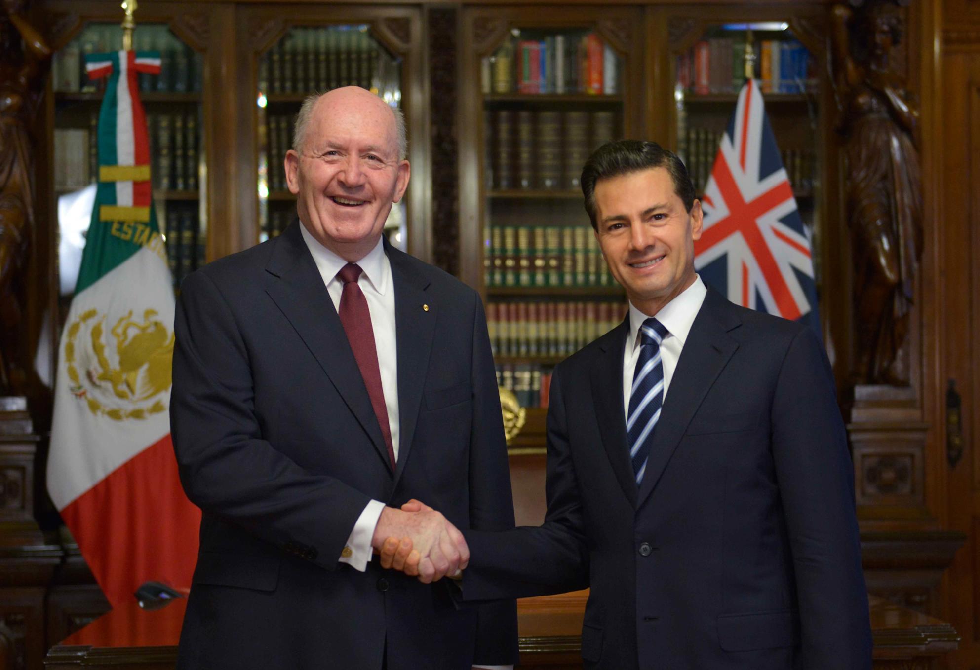 México y Australia mantendrán el impulso del diálogo político a todos los niveles, a fin de promover un mayor crecimiento de los intercambios económicos.