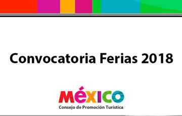 Convocatoria Ferias 2018