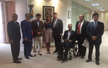 Visita de la Gobernadora del estado de Sonora, Claudia Pavlovich Arellano, al estado de California de la Unión Americana