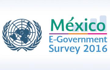 México ocupa el 1er lugar en el Índice de Servicios en Línea en América Latina y el Caribe.