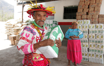 DICONSA ofrece cobertura a 54.8% de las poblaciones indígenas que hay en el país con productos sanos, variados y suficientes