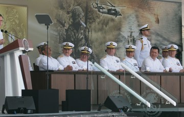 Ceremonia de Graduación de la Generación 2011-2016 de la Heroica Escuela Naval Militar en Veracruz