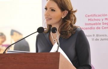 DIF Nacional crea condiciones de equidad para personas con discapacidad: Angélica Rivera