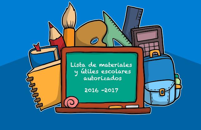 Estos materiales son indispensables para el inicio de curso de los alumnos