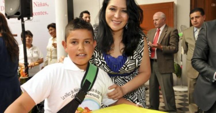 Niñas y Niños el impulso del DIF Nacional: Laura Vargas Carrillo.