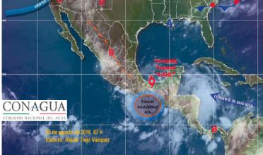 SEP inspecciona escuelas en la sierra de Puebla afectadas por la tormenta tropical Earl