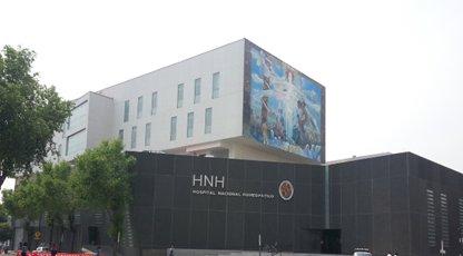 El Hospital Nacional Homeopático en la actualidad.