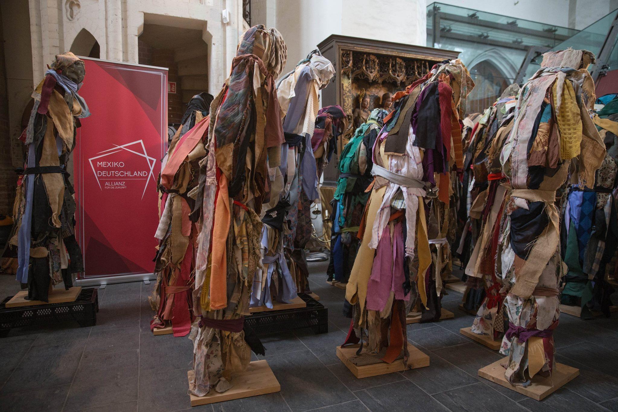 Exposición de una artista mexicana en Alemania.