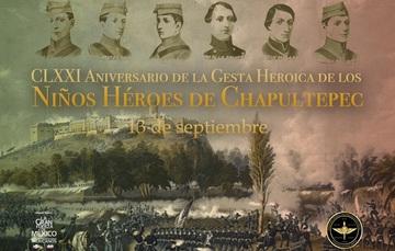 Niños Héroes de Chapultepec.