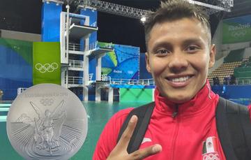 Agradeció a la CONADE por el décimo cuarto metal que obtiene esta disciplina en la historia de México en unos Juegos Olímpicos
