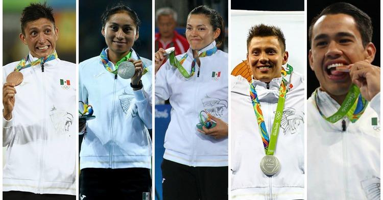 Medallistas mexicanos en Río 2016