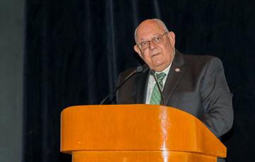 Conferencia del Dr. Roberto Fernando Salmón Castelo, comisionado mexicano de la Comisión Internacional de Límites y Aguas entre México y Estados Unidos (CILA MEX-EUA).
