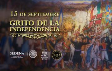 Imagen descriptiva del Grito de Independencia.