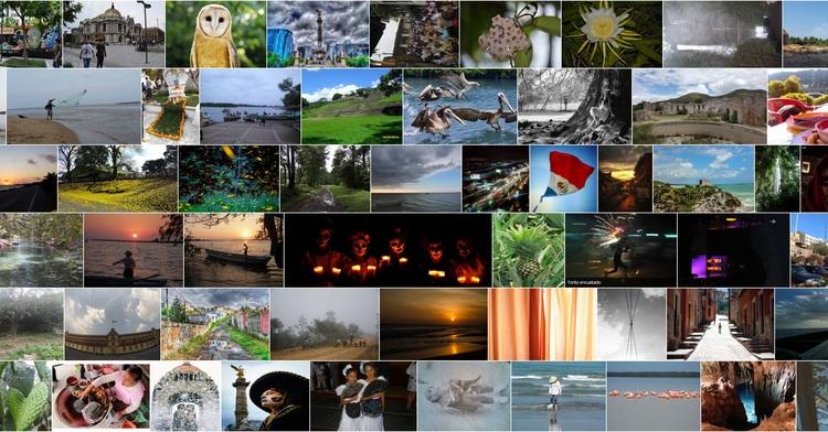 Fotografías participantes en la tercera versión de Sentimientos de México