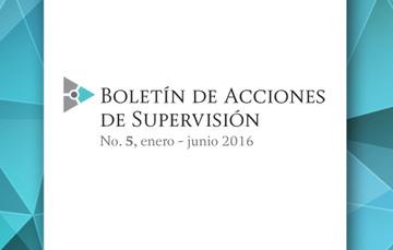 Boletín de Acciones de Supervisión