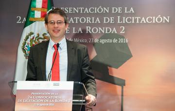 El Subsecretario Miguel Messmacher dio a conocer el marco económico que se estará aplicando en los contratos de licencia de la licitación de la Ronda 2