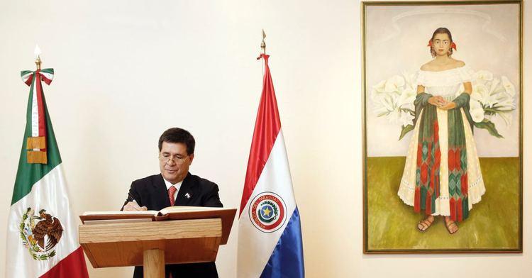 El Presidente de Paraguay, Horacio Cartes, en Visita Oficial en México.