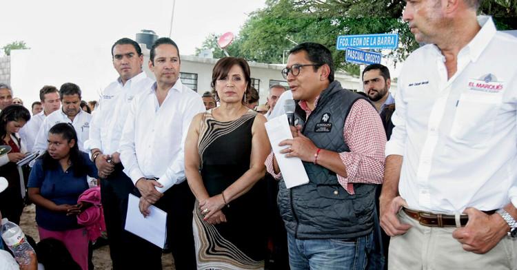 Entrega de viviendas en Querétaro, en beneficio de habitantes del municipio El Marqués