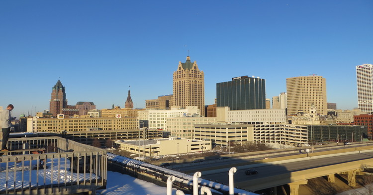Vista de Milwaukee.