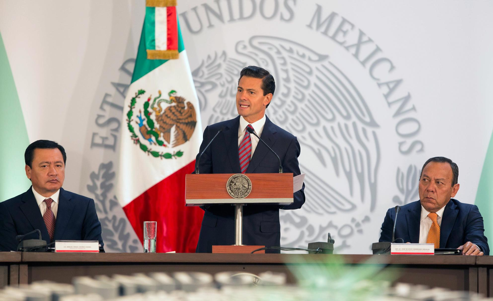 El Primer Mandatario clausuró la 40ª Sesión del Consejo Nacional de Seguridad Pública.