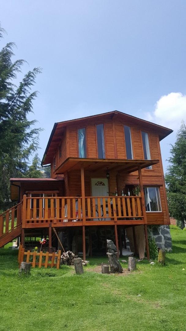 Vivir en una casa de madera comisi n nacional forestal - Casas de madera para vivir ...