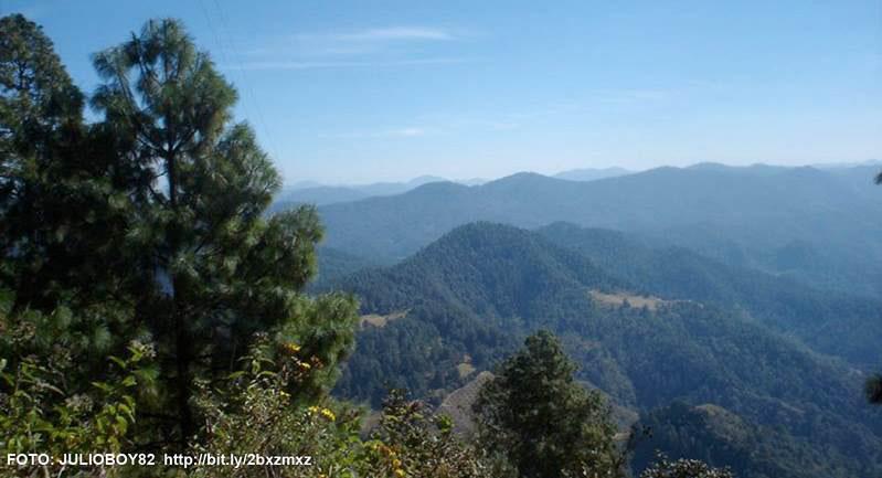Parque Nacional Cerro de Garnica, Michoacán.