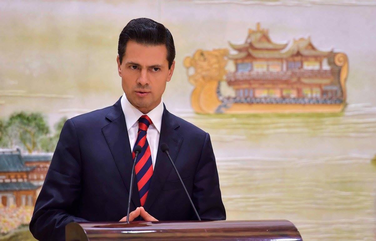 """""""México, es legítimo, procura un espacio para poder puntualizar cuál es el papel que tiene en la relación con los Estados Unidos"""": EPN"""