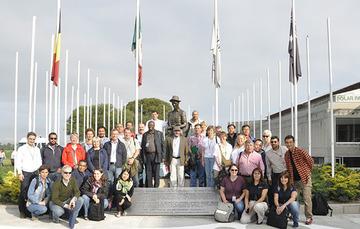 Integrantes del grupo de trabajo de plantas agrícolas de la UPOV
