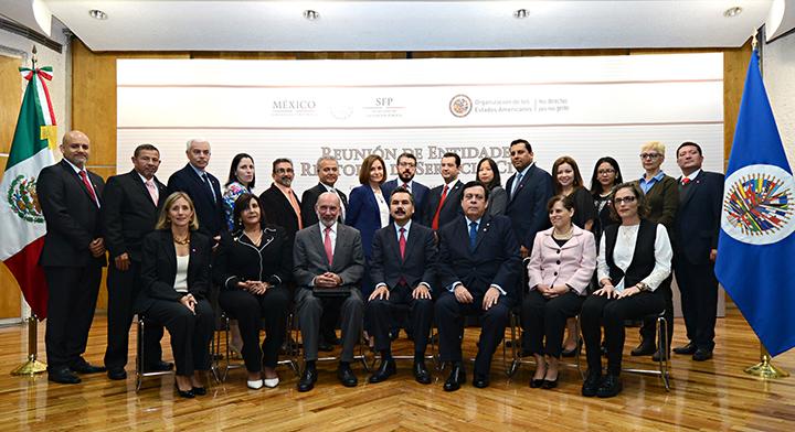 Foto oficial Reunión de Entidades Rectoras de Servicio Civil