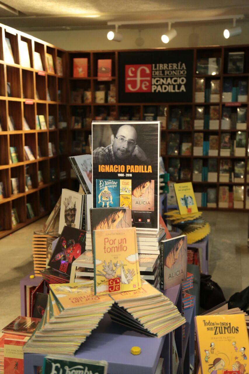 Libros del escritor mexicano Ignacio Padilla