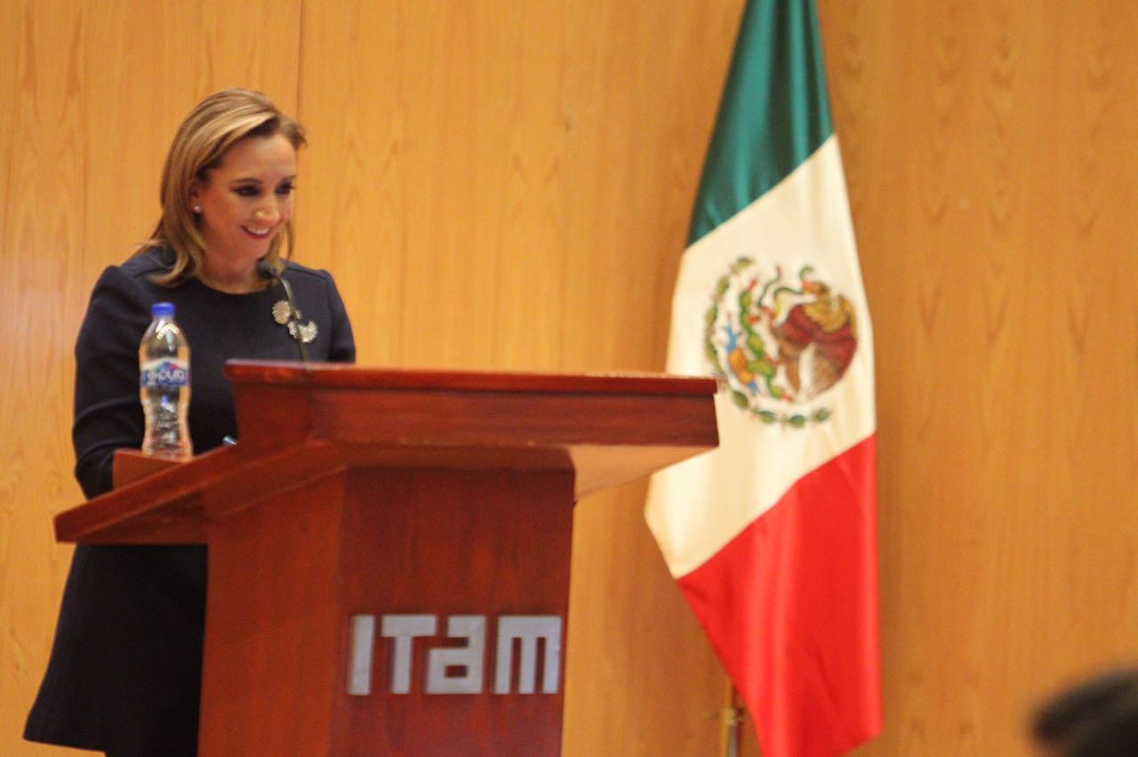 La Canciller Ruiz Massieu participó en el Congreso Universitario Internacionalista de México del ITAM.