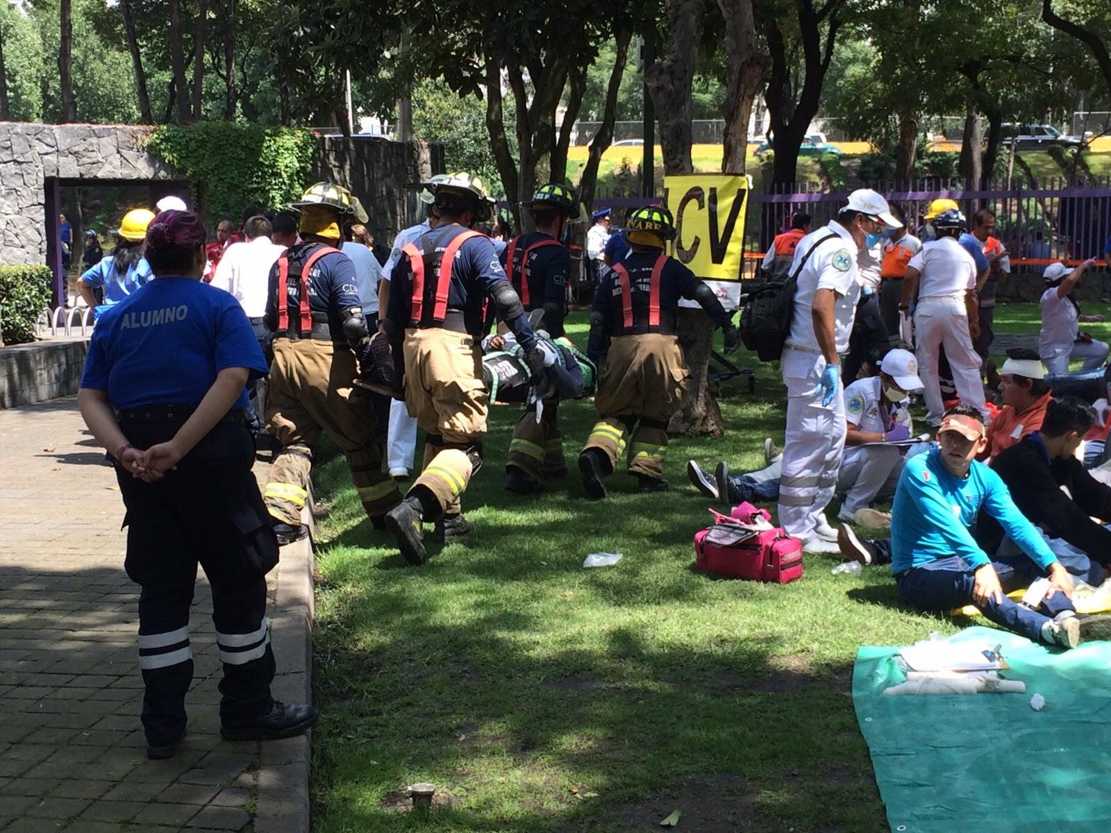 Imagen de simulación de rescate