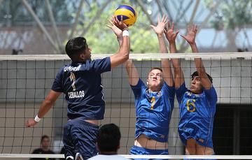 Instituciones de nivel superior celebran Día Internacional del Deporte Universitario con torneos en el CNAR