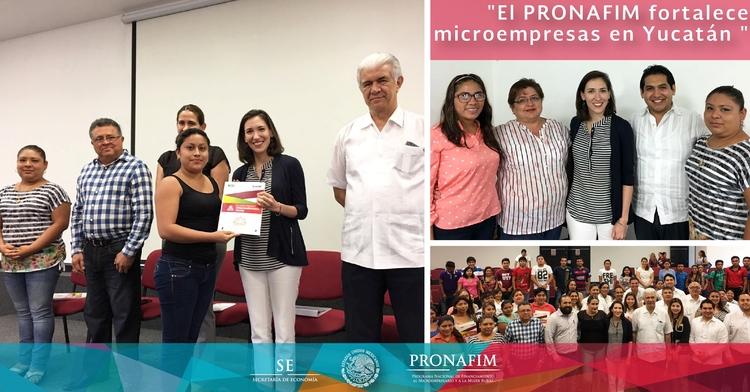 El PRONAFIM fortalece microempresas en Yucatán