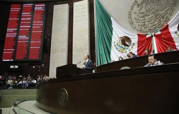 Comparecencia del secretario José Antonio Meade en la Cámara de Diputados